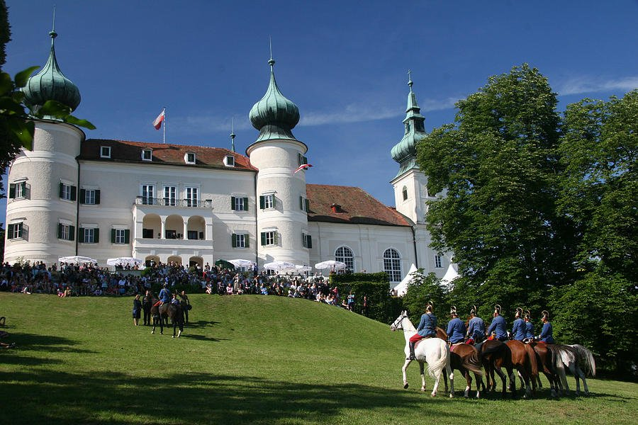 122 Artstetten Castle in June by travel