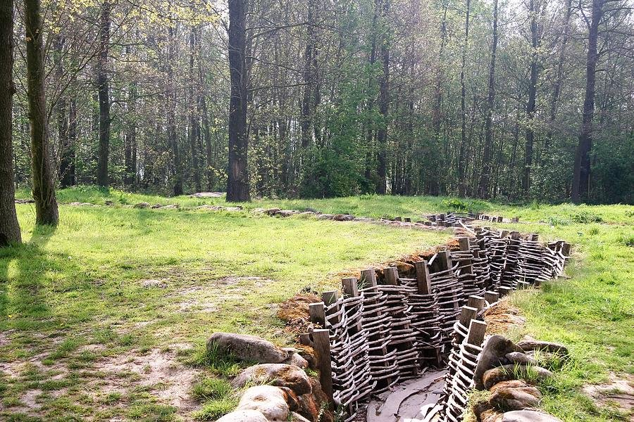 123 World War One Trenches by travel