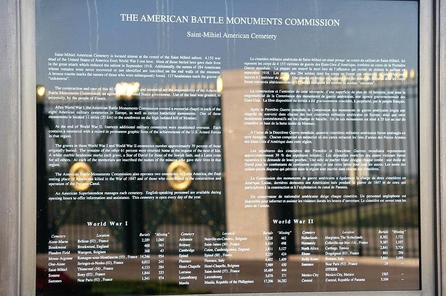 120 American Battle Monuments Commission by travel