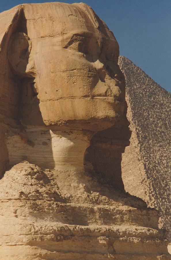129 Great Sphinx of Giza by travel