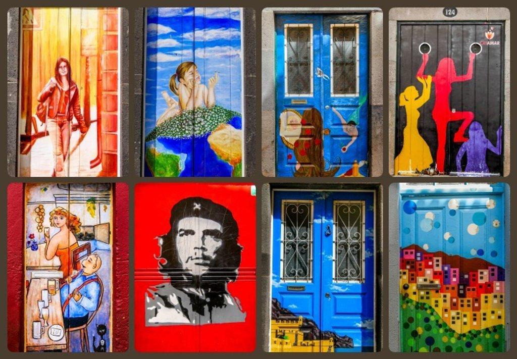 More Painted Doors Of Funchal by carolmw