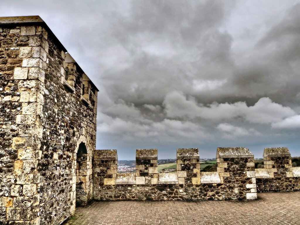 A view from Dover Castle  by suesmith