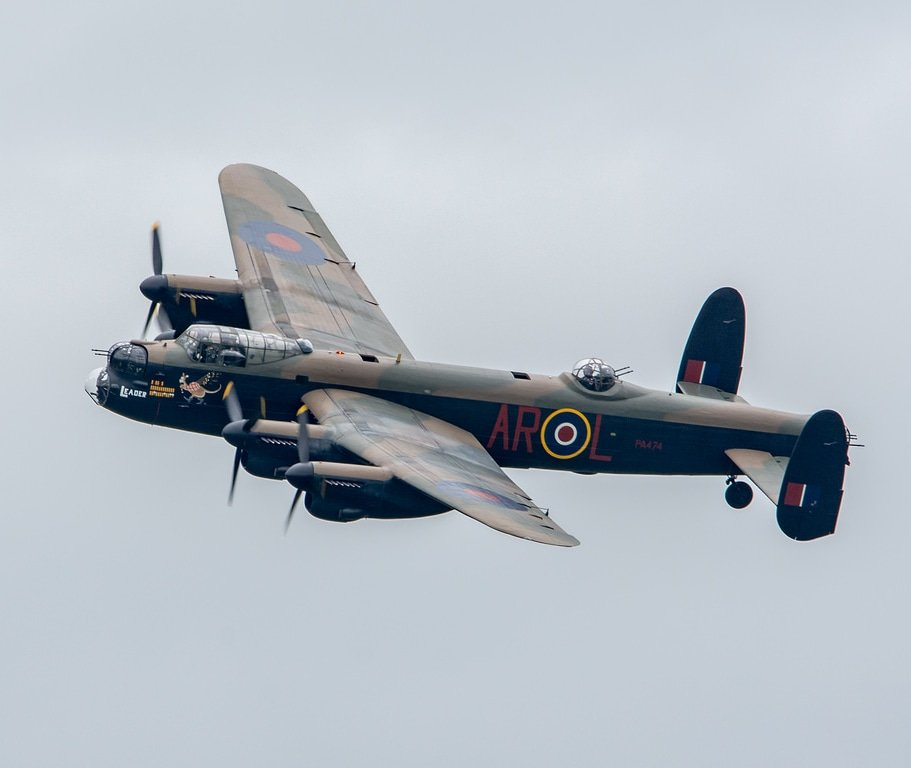 Lanc over Leicestershire  by rjb71