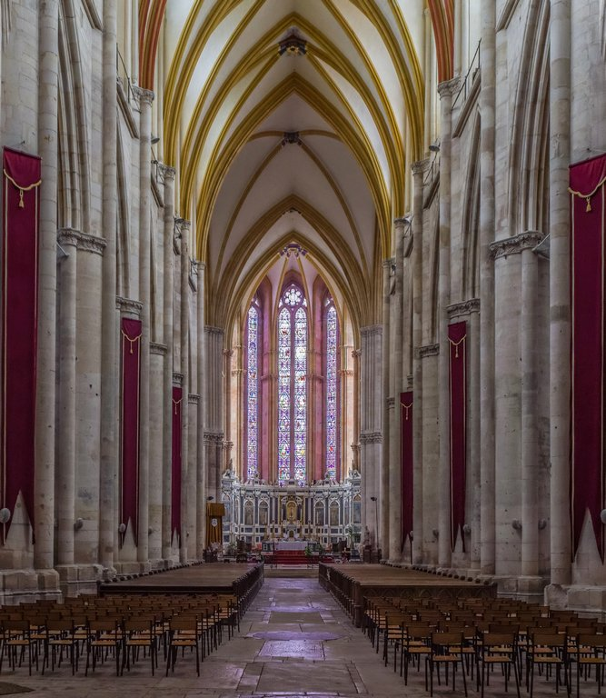 156 - Saint-Etienne Cathedral, Toul by bob65