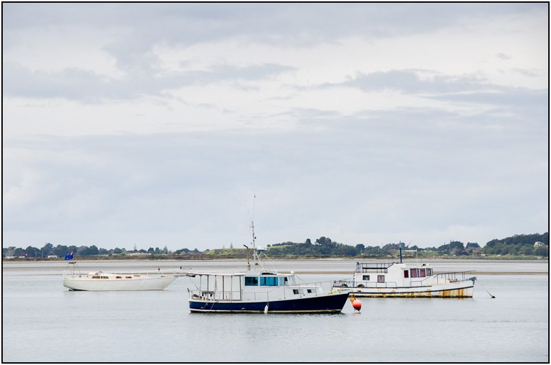 Moored Boats by chikadnz
