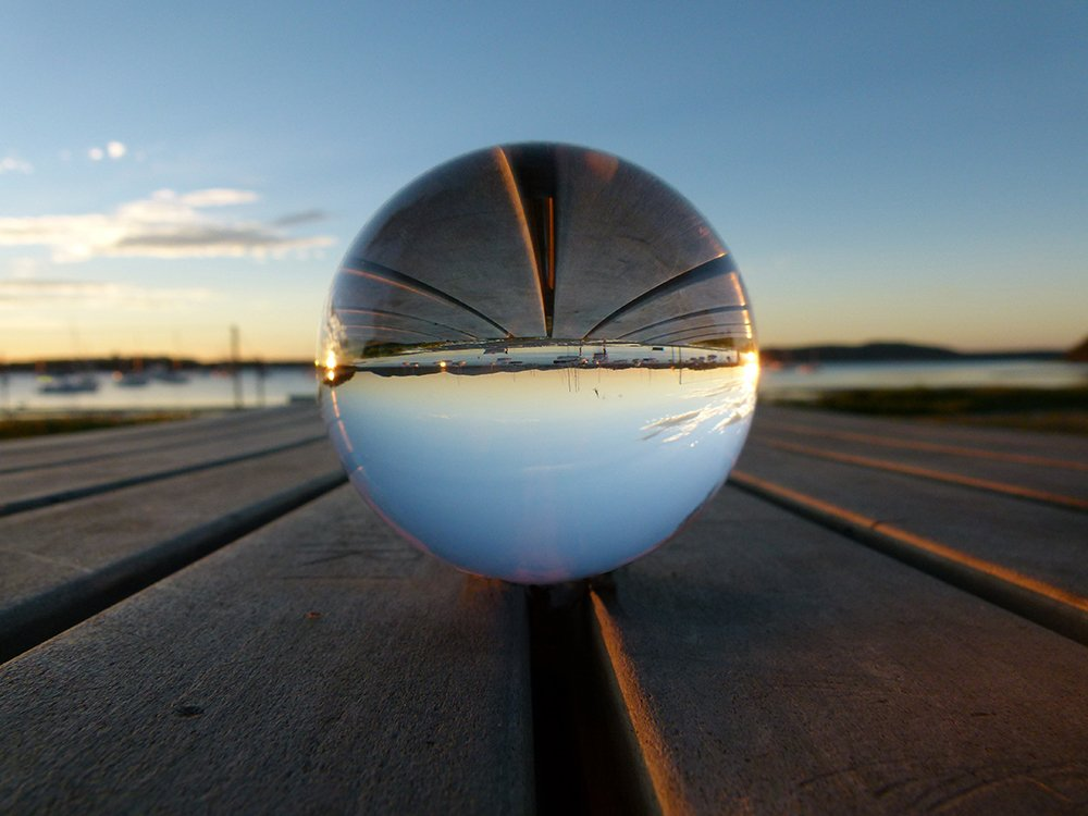 Foreshore Through the Crystal Ball by onewing