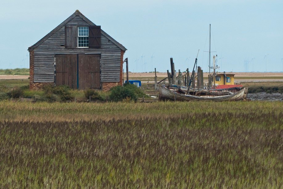 Thornham Harbour and Coal Barn by helenhall