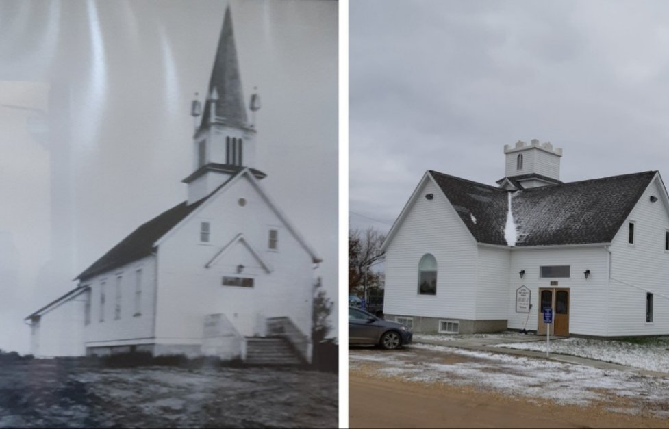 Then and Now Kingman Baptist by bkbinthecity