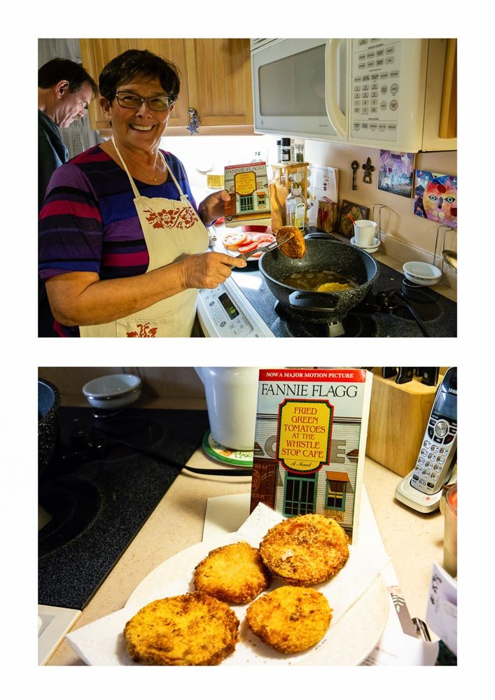 Fried green tomatoes by pamknowler