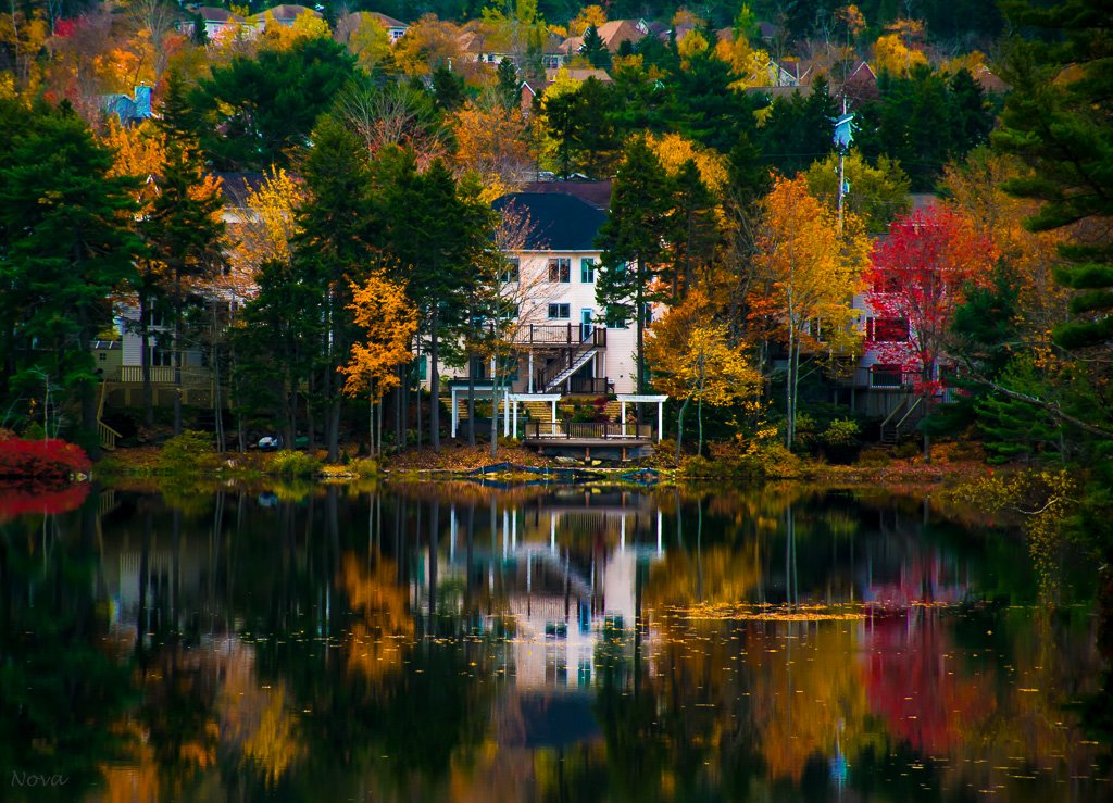 Lake reflections by novab