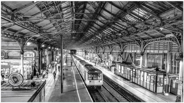 There's just something about train stations! by lyndamcg