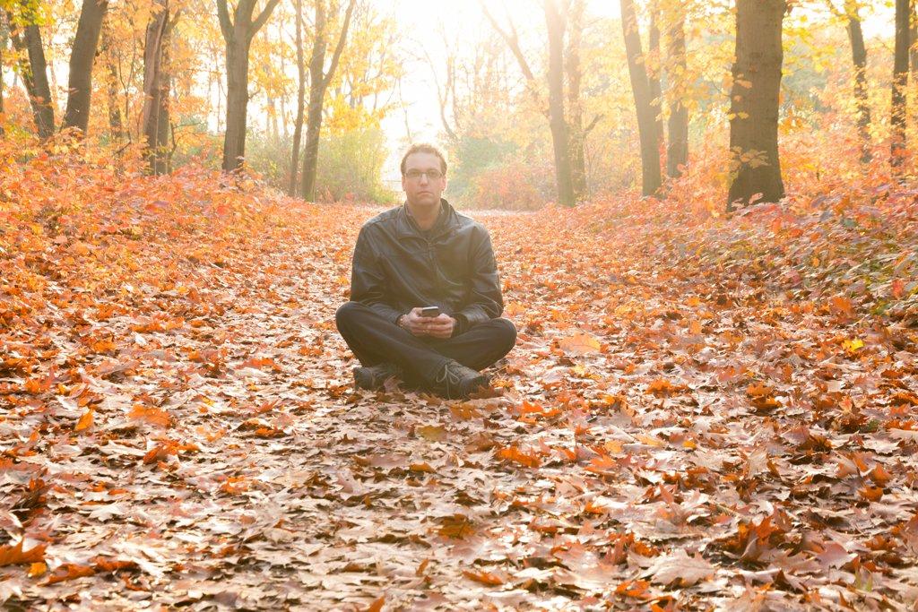 Autumn Self-Portrait by leonbuys83