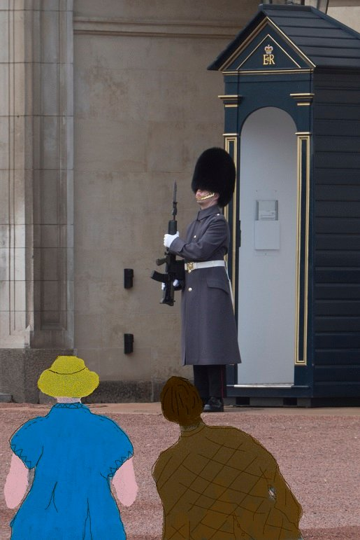 They're changing guards at Buckingham Palace by helenhall