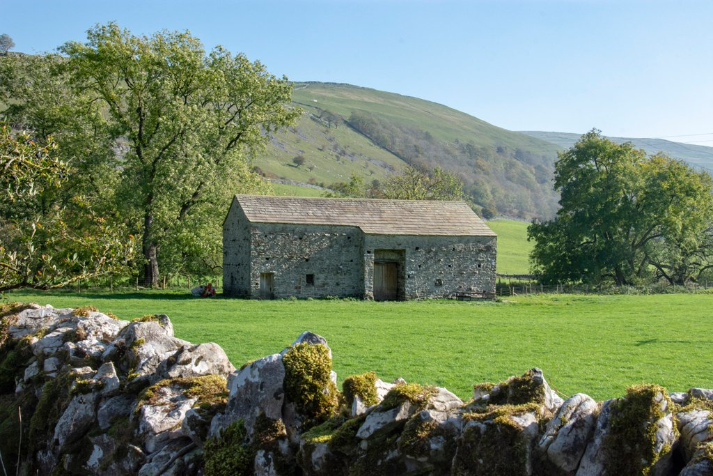 Yorkshire Dales stone barn by ksmale