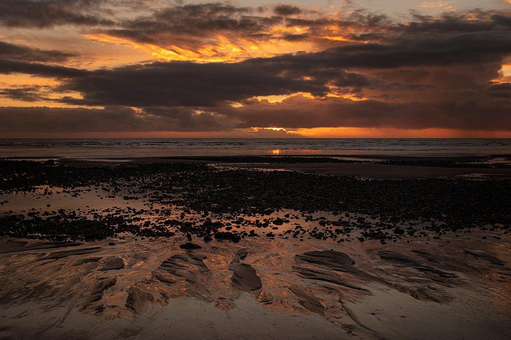 Drigg Sunset by ellida