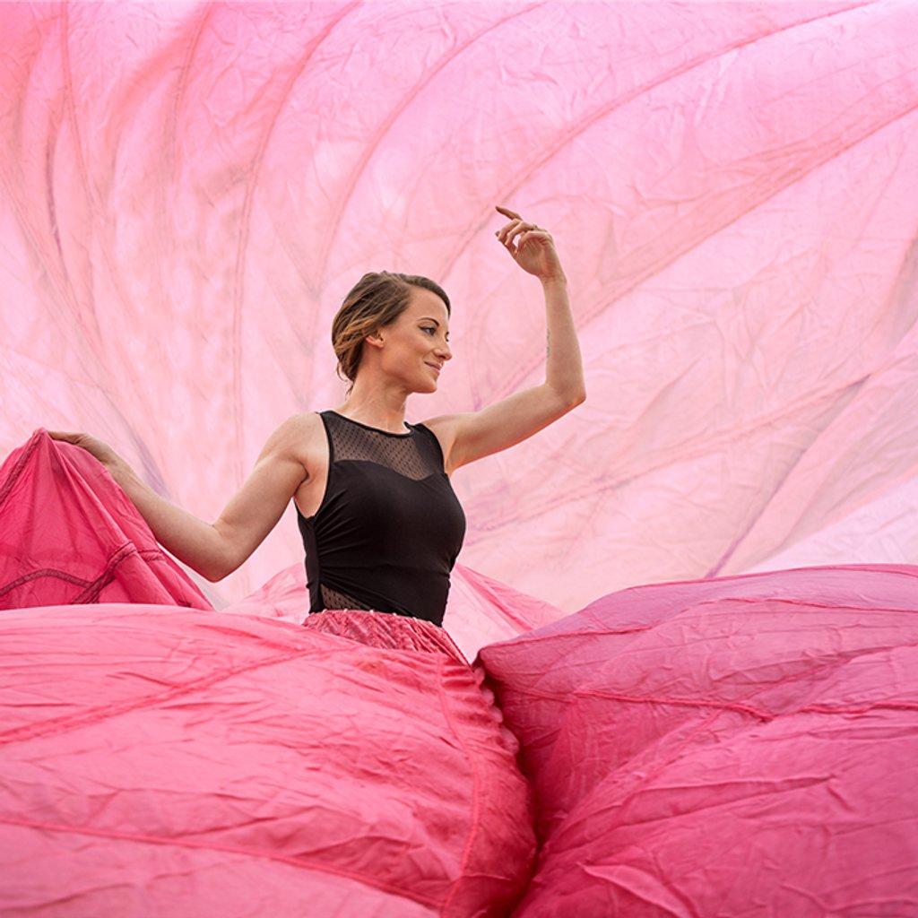 Amanda Parachute Dress by erikeweaver