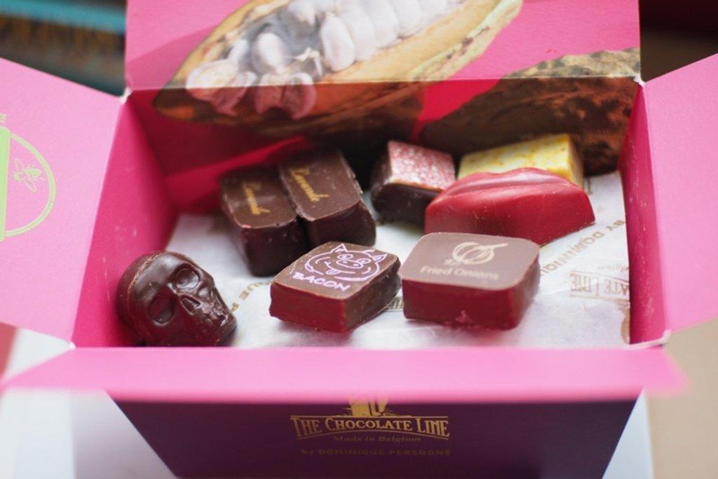 Yummy chocolates  by bizziebeeme