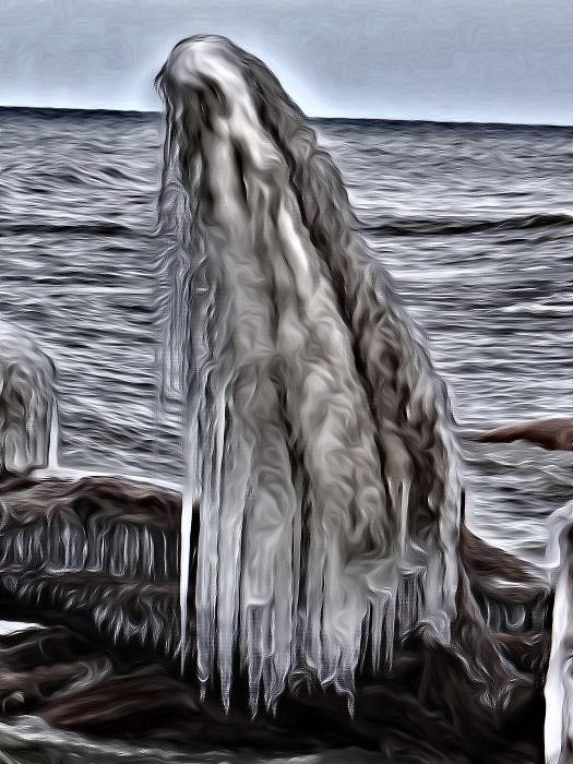 Edit of the Ice Ghost by brillomick