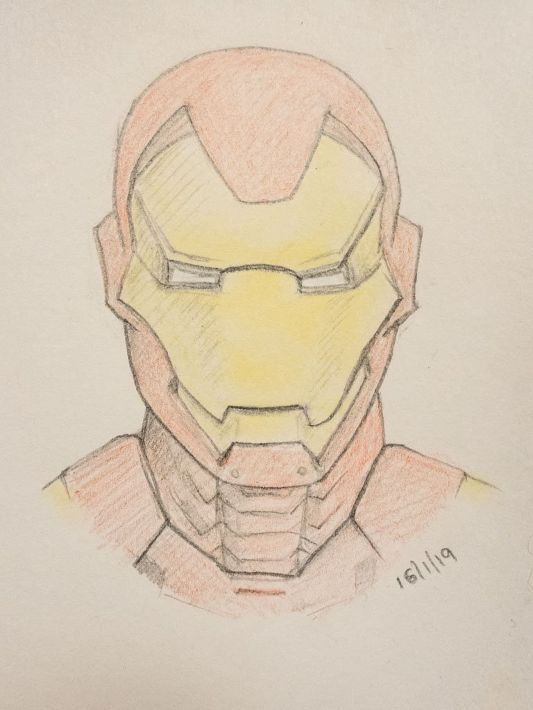 Iron Man by harveyzone