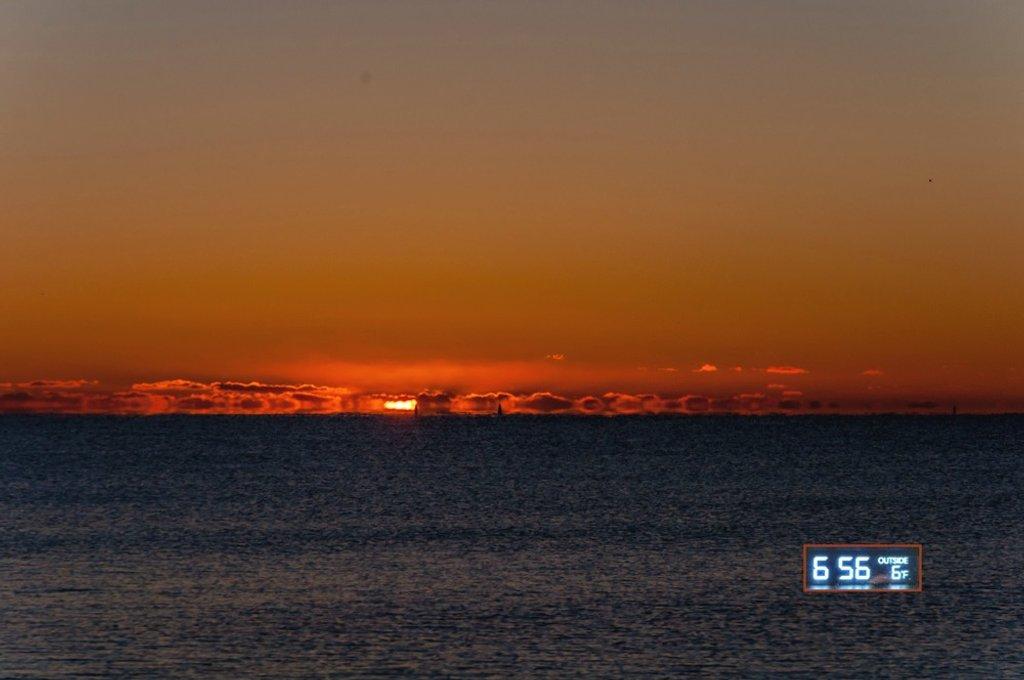 Sunrise at Gooch's Beach  by joansmor