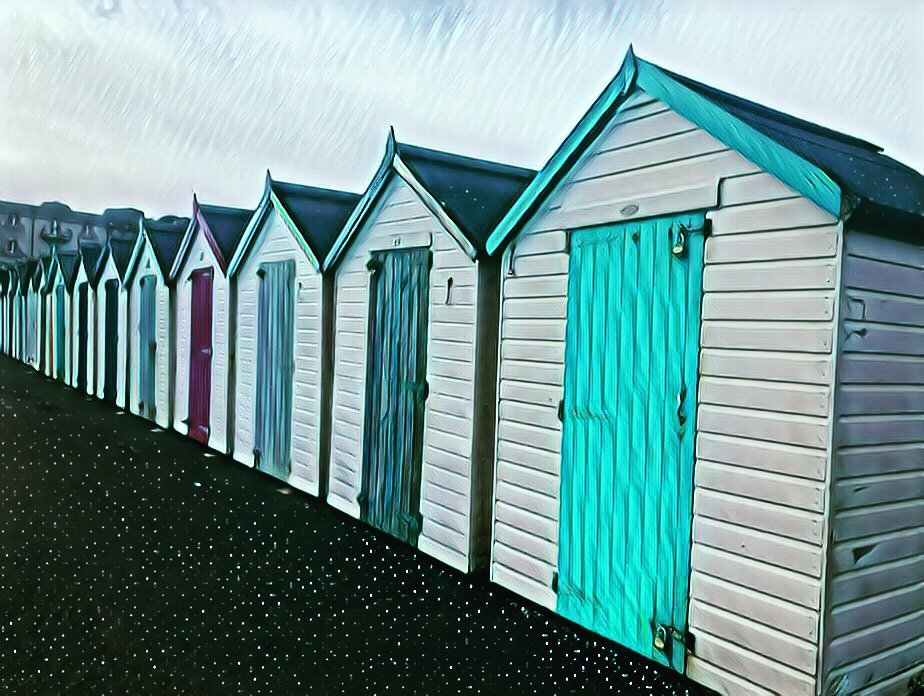 Huts in a Row by cookingkaren
