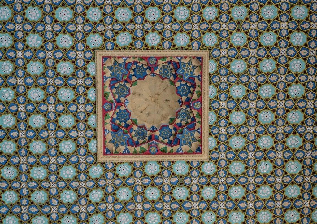 035 - Ceiling at the Baha Ad-Din Naqshband Necroplis (2) by bob65