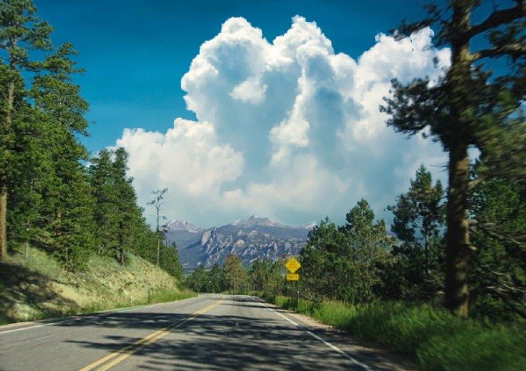 The Road To Estes Park Colorado by randy23