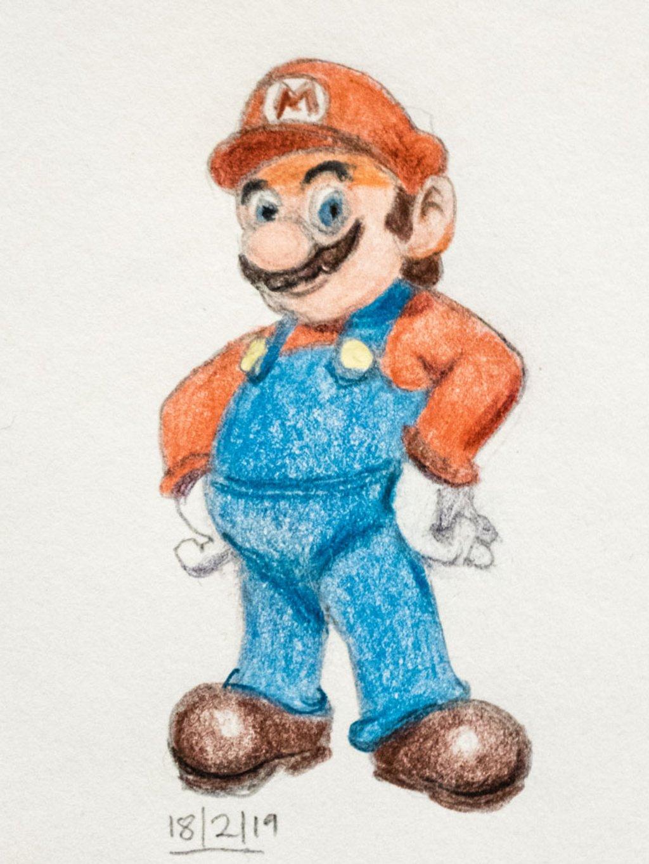 Mario by harveyzone