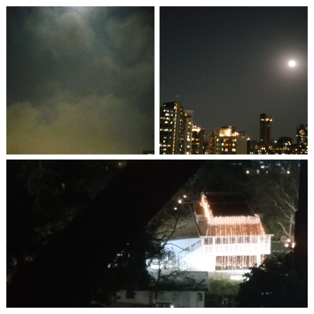 Full moon over Mumbai  by veengupta