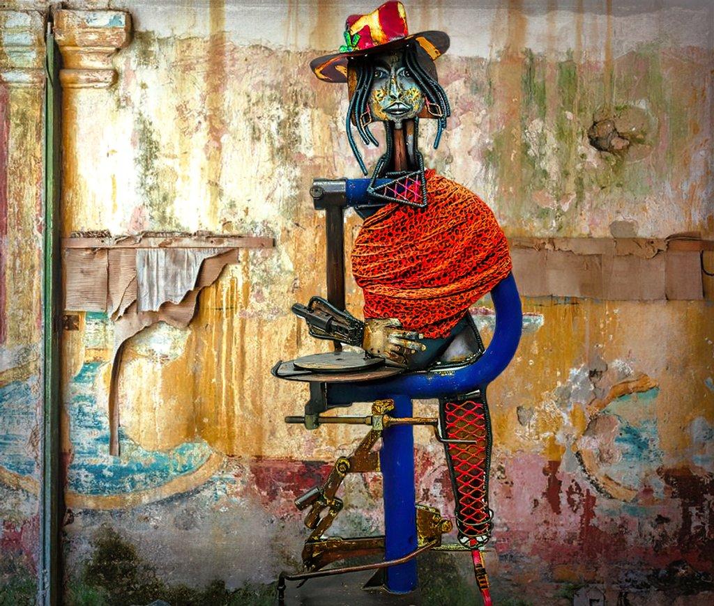 African lady in Cuba by ludwigsdiana