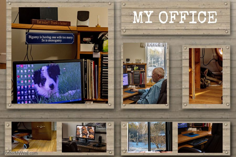 Office Collage by farmreporter