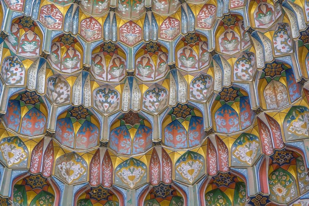 060 - Decoration at the Ulugbek Madrasah by bob65