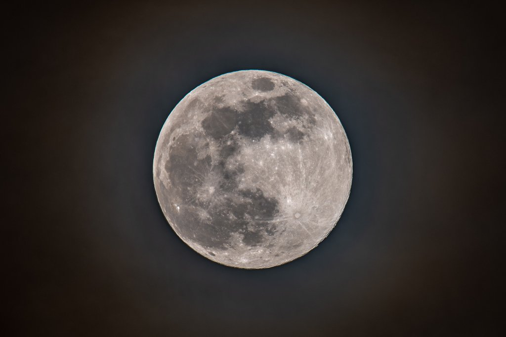 The not quite full probably cloudy tomorrow moon by rjb71
