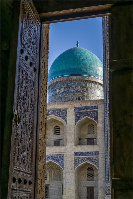 066 - Doorway to the mosque by bob65