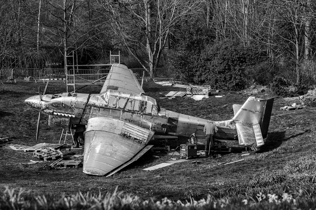 Crash Landed.. by rjb71