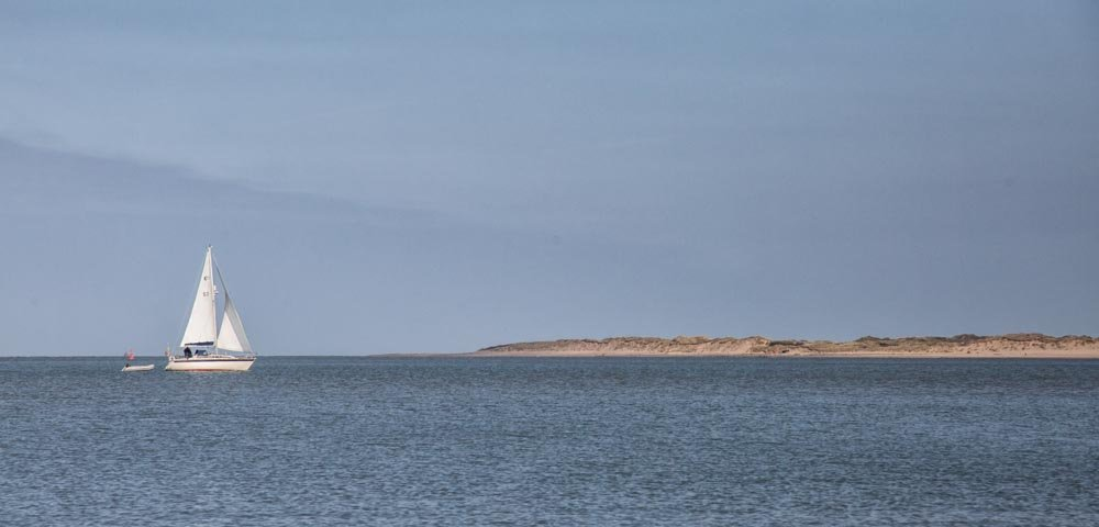 Sailing to Braunton Burrows by pamknowler