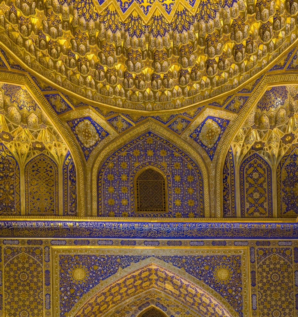 087 - Inside the Tillya -Kari Madrasah by bob65