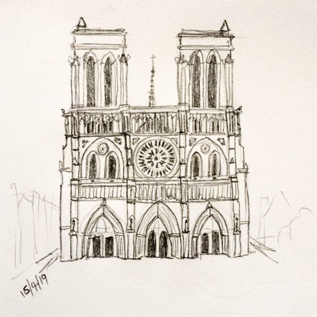 Notre-Dame de Paris by harveyzone