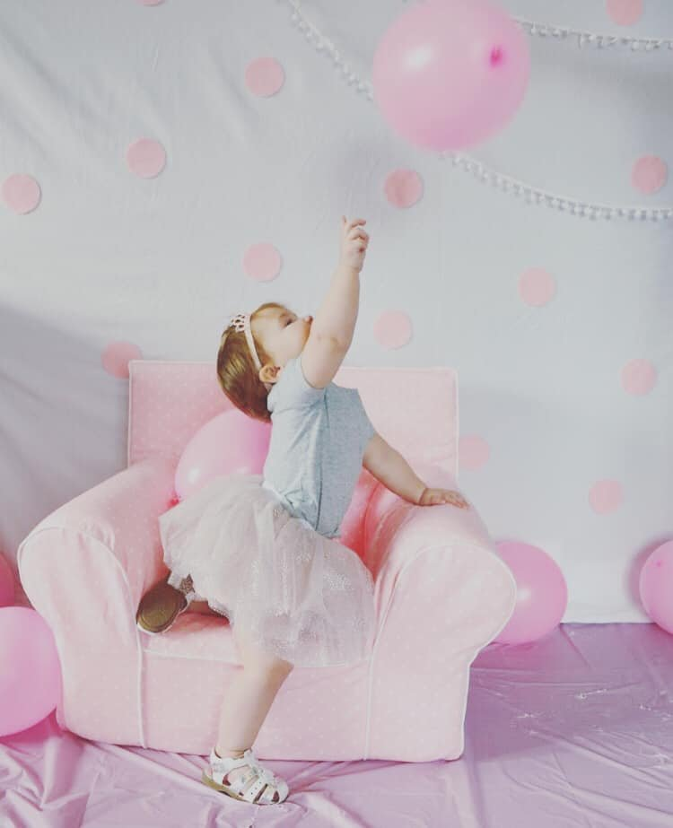 Our little princess turned one by bruni