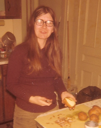 Me as a Student in 1973 by spanishliz