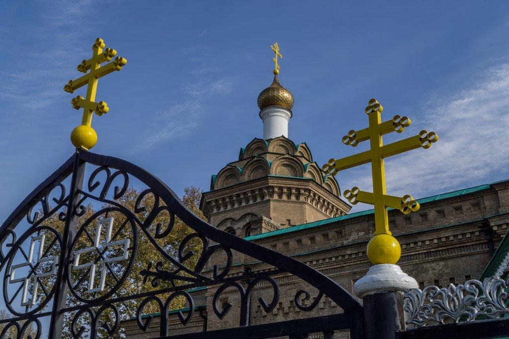 091 - Russian Orthodox church, Samarkand by bob65