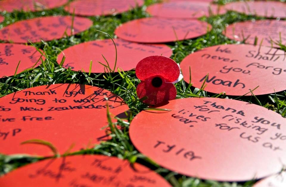 ANZAC - They shall grow not old...  by brigette