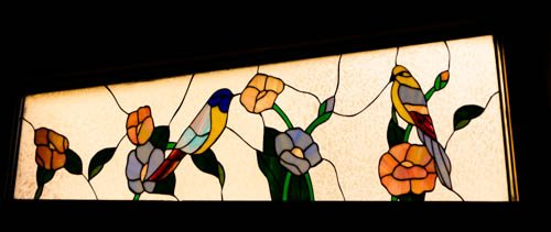 Stained Glass Window at Mom's by wendytel