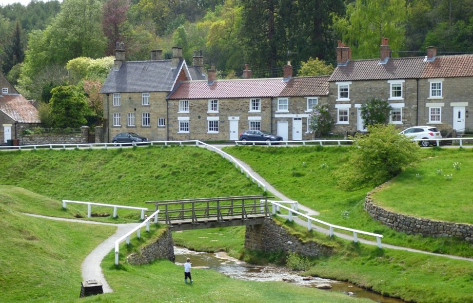 Hutton-le-Hole by fishers
