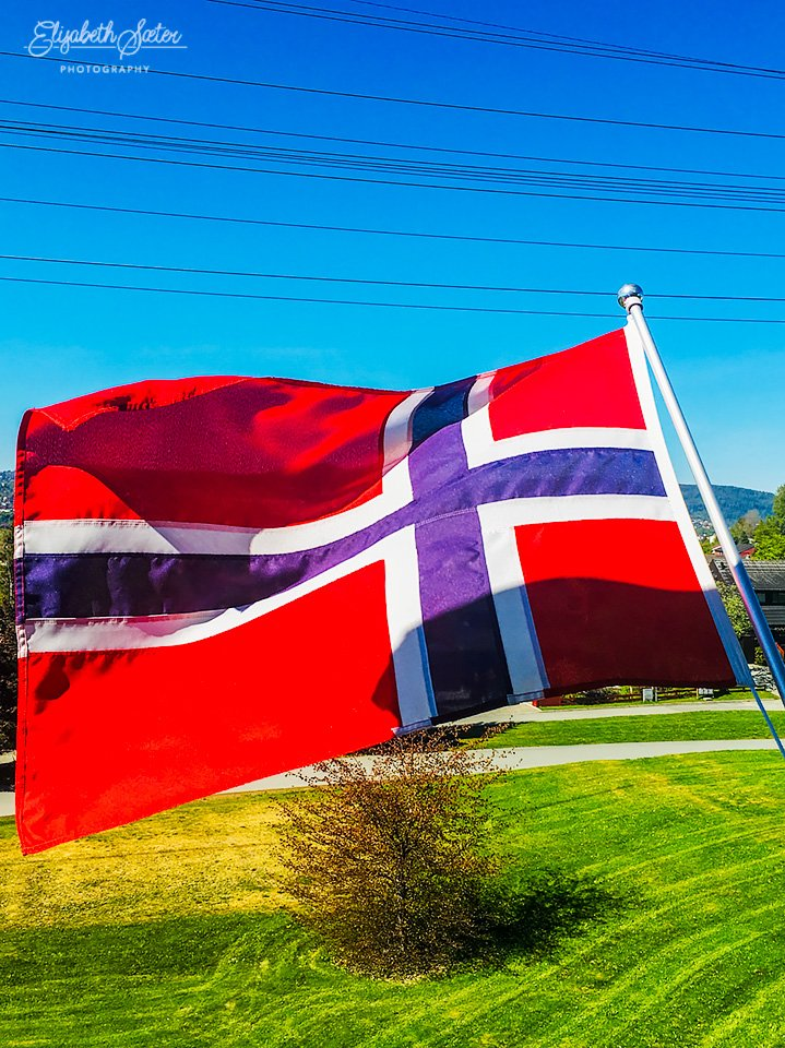 Hurra Norway's Constitution Day. by elisasaeter