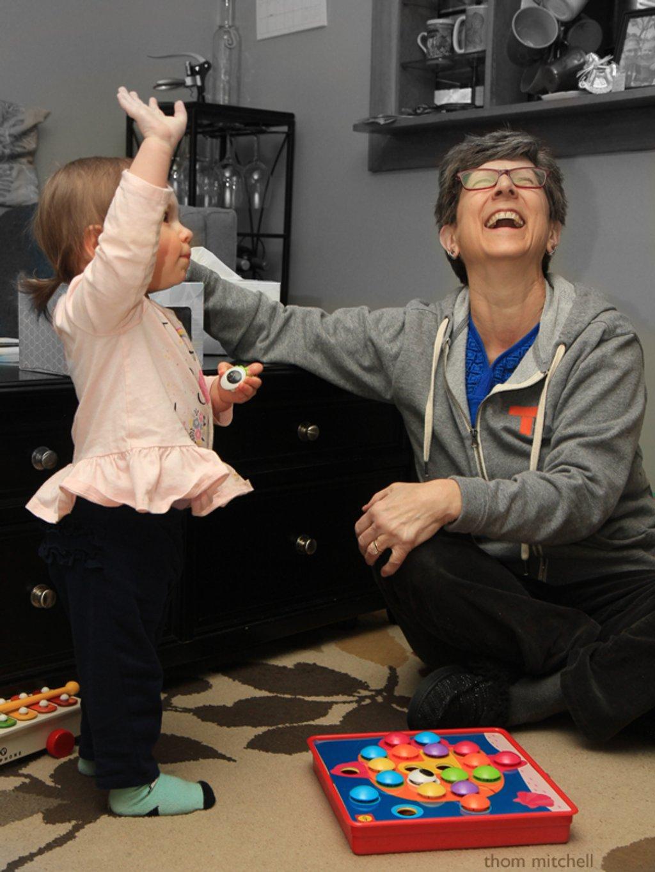 Grandparent joy [Travel day] by rhoing