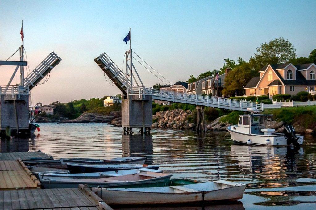 Footbridge Perkins Cove by joansmor