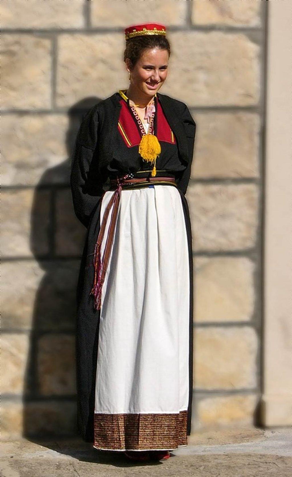 Croatian folk dancer by ivan