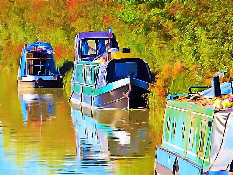 Quietly Moored Continued  by ajisaac