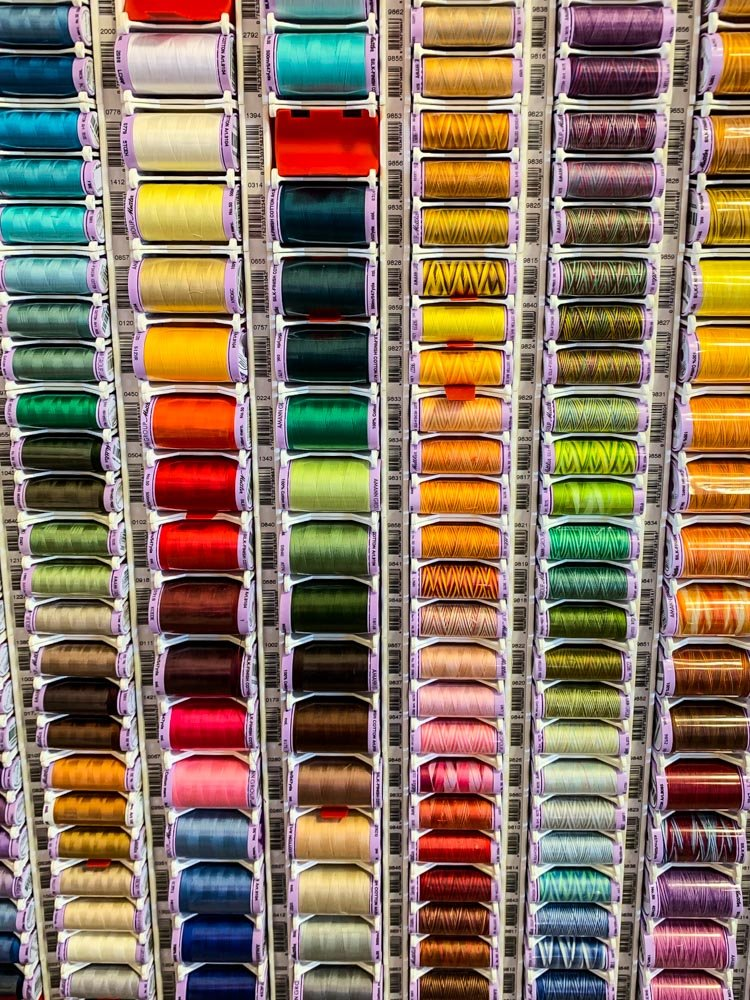 Coloured cottons by pamknowler